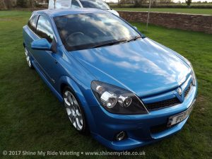 Vauxhall Astra VXR after a Winter Protection near Bridgwater