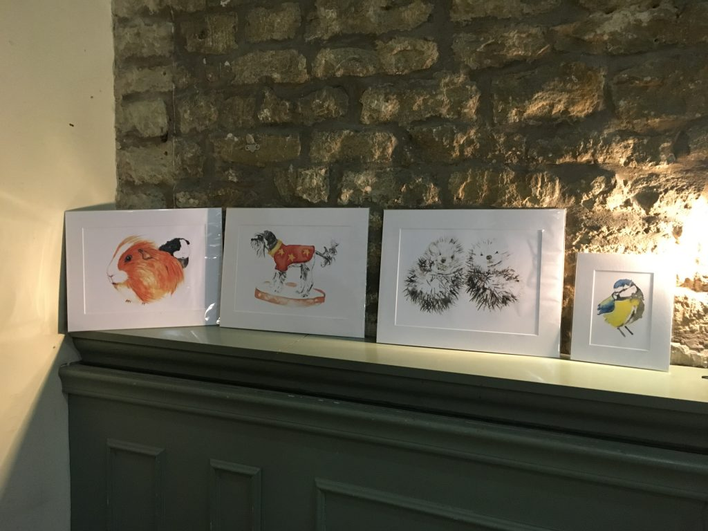 Selection of prints by Ashley Wilks Art