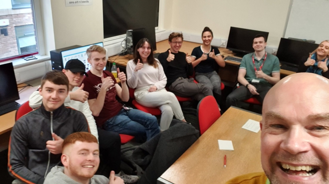 Social Media Training at Cirencester College